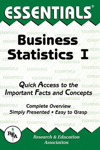 Business Statistics I Essentials (Essentials Study Guides)