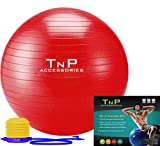 EXERCISE GYM YOGA SWISS BALL FITNESS PREGNANCY BIRTHING ANTI BURST BALLS 55CM / 65CM / 85CM + FOOT PUMP