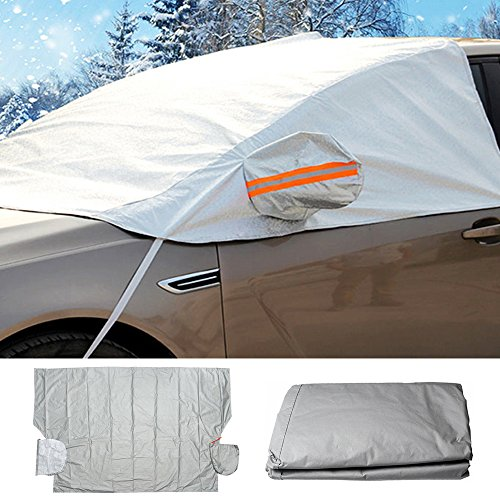 Car Windscreen Frost Cover Sun Shade Protector Front And Side Windows Mirror Cover Protector