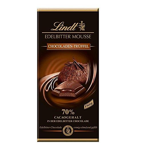 Lindt Edelbitter Mousse, Chocoladen-Trüffel 70% Cacaogehalt (13x150g Tafel)