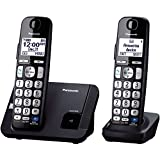 Panasonic KX TGE212B dect_6.0 2 Handset Landline Telephone by Panasonic available at Amazon for Rs.15899
