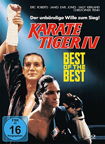 Best of the Best 1 - 4 DVD komplette Serie Karate Tiger 4 DVD´s