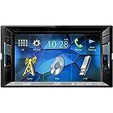 Auto Radio Multimedia 2 DIN DVD USB CD Receiver JVC mit Bluetooth für Volvo S60 V70 XC 70 03/2000-09/2003 incl Einbauset
