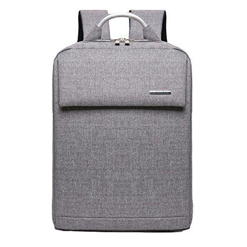 Umhängetasche Männer Und Frauen Geschäftsreise Rucksack Tasche Computer Tasche Freizeit Einfach Wild Grey
