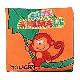 Gutsbox Baby Tuch Buch Frühes Pädagogisches Spielbuch Baby Entdeckungsbuch Hochwertiges Kleinkindspielzeug Infant Educational Spielzeug für Neugeborene Babys