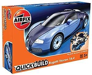 airfix j6008 modellbausatz bugatti veyron quickbuild. Black Bedroom Furniture Sets. Home Design Ideas