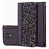 für Smartphone Samsung Galaxy J5 2017/SM-J530 Hülle, Leder Tasche für Samsung Galaxy J5 2017/SM-J530 Flip Cover Handyhülle Bookstyle mit Magnet Kartenfächer Standfunktion (3)