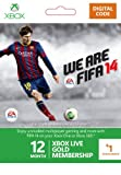 Xbox LIVE 12+1 Month Gold Membership: FIFA Branded [Online Game Code]