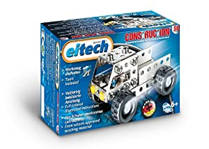eitech 00058 Camión - Juego de construcción de metal (herramientas incluidas) importado de Alemania