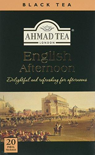 Ahmad Tea English Afternoon Tea - 20 Teabags (Pack of 6, Total 120 Teabags)