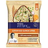 Saffola Fittify Gourmet Superfood Quinoa Upma, Power Breakfast, 6 X 50 g