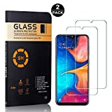 Galaxy A30 Screen Protector Tempered Glass, Bear Village® HD Screen Protector, 9H Scratch Resistant Screen Protector Film for Samsung Galaxy A30, 2 Pack
