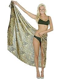 La Leela Lightweight Chiffon Hawaiian Swimsuit cover up