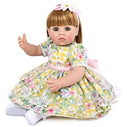Lindo Paño Suave Silicona Muñeca Simulación Bebé Niños Durmiendo Jugando Juguete Renacido Bebé 22 Pulgadas Lleno Vivo Niños Juguete Regalo De Cumpleaños Para Niños