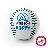 Aresson Softy Rounders Ball - White, 19cm