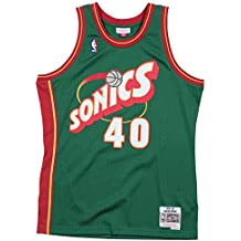 Mitchell & Ness Maillot Seattle Super Sonics Kemp Shawn #40
