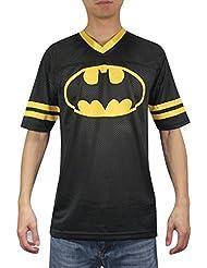 Batman #1 Herren Mesh-V-Ausschnitt Kurzarm-T-Shirt / T