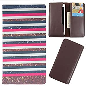 DooDa - For Sony Xperia J PU Leather Designer Fashionable Fancy Case Cover Pouch With Card & Cash Slots & Smooth Inner Velvet