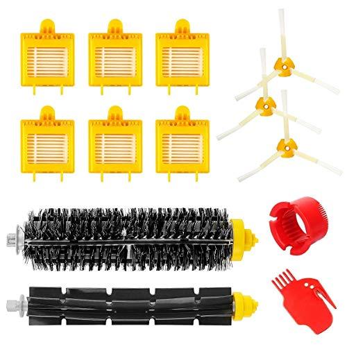MaxDirect Pack Kit de 13 PCS de Accesorios y Recambios para Roomba Serie 700 (Cepillos, Cerdas, Filtros y Brush) para Aspiradoras iRobot Roomba Serie 700.