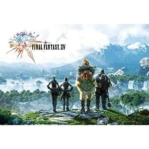 J-4059 Final Fantasy Game Poster Size 24'x35'inch. Rare New - Wall Dekoration Image Print Photo