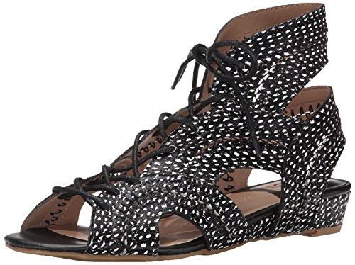 Dolce Vita-gladiator-sandalen (DV By Dolce Vita Wylla Damen Schwarz Gladiator Sandalen Schuhe Neu EU 36,5)