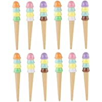 Parteet New Defrent Style Gel Pens, Pack of 12Pcs for Birthday Party Return Gifts for Kids (Softy Pen)