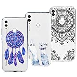 3X Case for Huawei Honor 10 Lite/P Smart 2019, TPU Cover