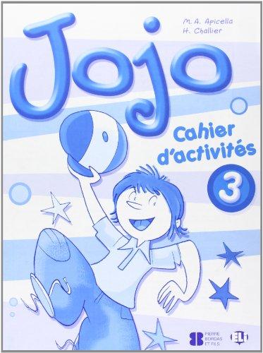 Jojo: Activity Book + Portfolio 3 par Apicella