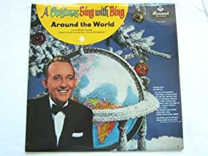 Bing Crosby A Christmas Sing With Bing LP Brunswick LAT8216 EX/EX 1960s