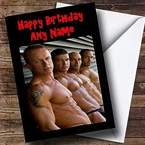 Carte d'anniversaire gay e