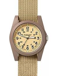 Bertucci 13361Unisex policarbonato Patrol Patrulla De La Banda De Nylon De Color Caqui Caqui Dial reloj inteligente