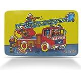 Frühstücksbrettchen für Kinder - Feuerwehr - Benny Brandmeister