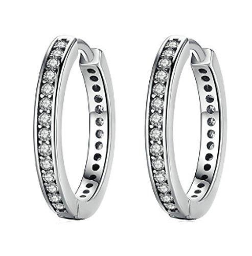 saysure-925-sterling-silver-cubic-zirconia-simple-item-stud-earrings