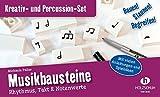 Musikbausteine, Kreativ- & Percussion-Set: Rhythmus, Takt & Notenwerte