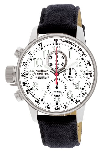 Invicta 1514 I-Force Reloj para Hombre acero inoxidable Cuarzo Esfera blanco