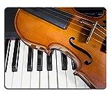 Liili Mauspad Naturkautschuk Mousepad Bild-ID 33059007Digital Piano und Violine