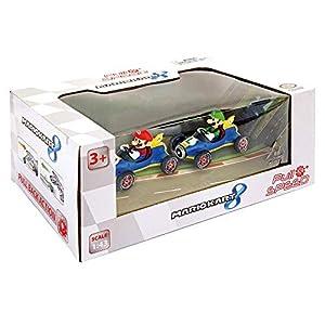 "Pull & Speed- Mario Kart 8"" Mach 8"" Twinpack, Multicolor (Stadlbauer 15813018)"