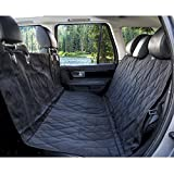 X-Large Dog Seat Cover-Heavy Duty & Waterproof, Machine Washable, with A Safety Seat Belt and Carry Bag,Dog Hammock(152 x 147 cm )