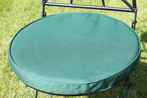 garden-furniture-cushion-round-pad-for-bistro-chair-green-in-colour