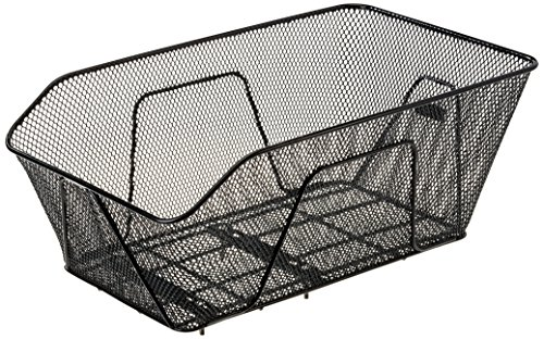 Proline Rosano Hinterradkorb, schwarz, 50 x 30 x 24 cm