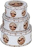 Gebäckdose Plätzchendose Vorratsdose Blechdose Keksdose Büchse Dose für Keks Plätzchen Weihnachten
