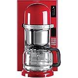 KitchenAid 5KCM0802EER Kaffeeautomat mit Filter 1.25L 8Tassen rot Kaffeemaschine