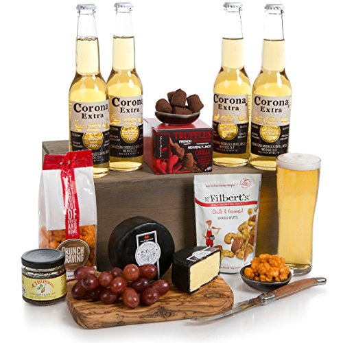 Hot N Spicy Beer Hamper - Scrumptious Black Bomber Cheese, With Hot And Spicy Treats With A Pack Of Refreshing Beer