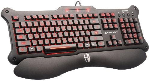 Saitek Cyborg V5 Keyboard (PC) [Edizione: Regno Unito]