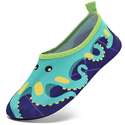 5087933c SUADEX Niños Niña Zapatos de Agua Descalzo Barefoot Respirable Zapatos de  Playa Aire Libre Calcetines de Natación Piscina Surf Yoga