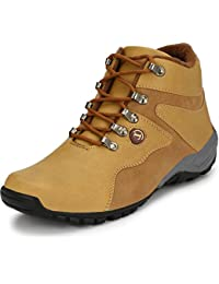 T-Rock Men's Synthetic Leather Tan Casual Shoes