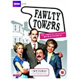 Fawlty Towers Remastered BBC TV Comedy Series 1 & 2 Complete DVD Collection [3 Discs] Boxset Extras by John Cleese