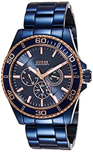 Guess Analog Blue Dial Men's Watch - W0172G6