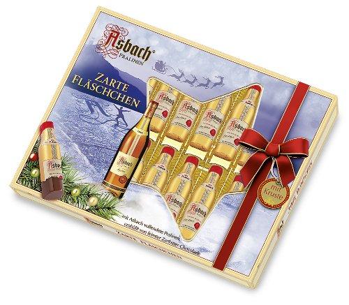 Asbach-Pralinen Weihnachtsfläschchen, 1er Pack (1 x 250 g) (Schnaps-pralinen)