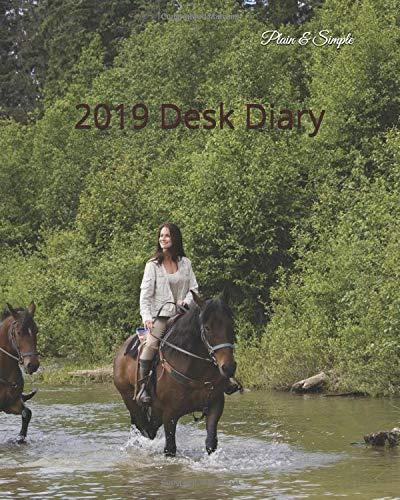 2019 Desk Diary (Diary - Plain  & Simple Series) por Plain & Simple